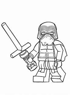 n 28 coloring pages of lego wars