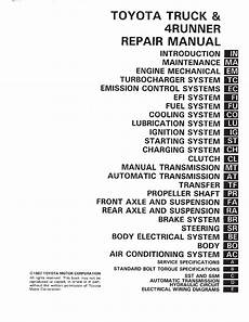 how to download repair manuals 2012 toyota 4runner electronic toll collection toyota 4runner 1996 2003 full repair service manual download service manual repair manual