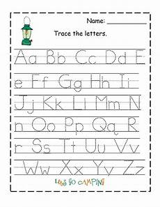 alphabet tracing pages for kids exercise printable shelter