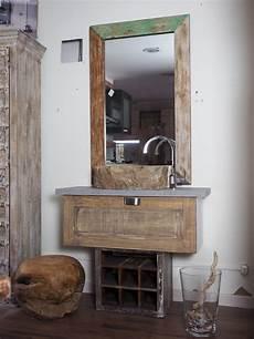 accessori bagno rustici mobile bagno stile industrial anta legno class vintage