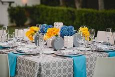modern yellow and blue wedding ideas every last detail