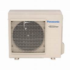 panasonic 16 700 btu 1 5 ton ductless split air conditioning with heat pump 230 volt or 208