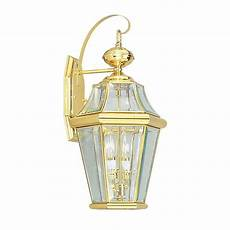 shop livex lighting georgetown 20 75 in h polished brass