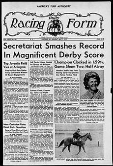 library blog daily racing form online archive usa