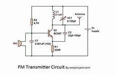 Fm Transmitter Circuit Diagram Schematic by How To Make Fm Transmitter Circuit With 3 Km Range