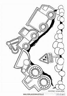 malvorlage baustelle f 252 r baumeister ausmalbild