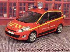 Les Petites Renault Renault Grand Scenic Iii Pompiers 2010