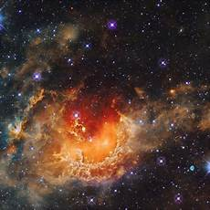 apod 2014 november star formation in the tadpole nebula
