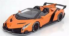 Kyosho 2014 Lamborghini Veneno Roadster Orange 1 18 New