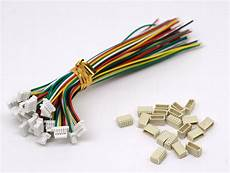 20 sets jst sh 1 0mm 5 connector plug with wire 100mm ebay