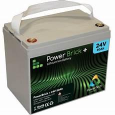 batterie lithium 24v 50ah powerbrick delta nautic