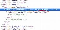 div website css how to get homepage div container of