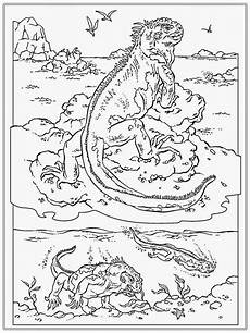printable iguana coloring pages realistic coloring pages