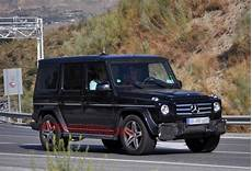 Updated Mercedes G55 Amg Spotted Autoblog
