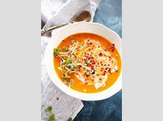 creamy thai sweet potato soup_image