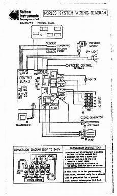 Balboa Wiring Diagram by Tech Tips