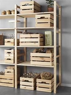 caisse rangement bois ikea knagglig caixa pinho arruma 231 227 o ikea portugal