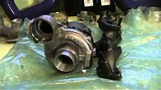 vw golf 5 tdi 2 0 bkd turbo umbau turbolader undicht