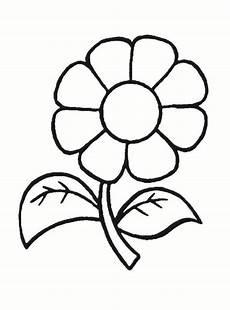 Malvorlagen Blumen Einfach Ausmalbilder Blumen Malvorlagen 01 Malvorlagen