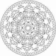 Mandala Malvorlagen Novel Einzigartig Mandala Weihnachten Zum Ausdrucken F 228 Rbung
