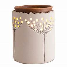 outlet ladari ambiescents dandelion ceramic wax warmer bed bath