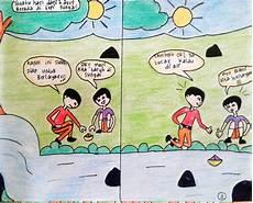 Adiwiyata Spensaca Komik Lingkungan Hidup Spensaca