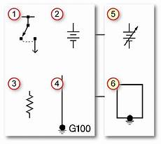 automotive wiring diagrams and electrical symbols auto facts org