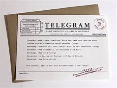 Wedding Telegrams Ideas