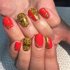 26 fall acrylic nail designs ideas design trends