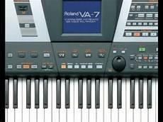 Virina Malvorlagen Keyboard Roland Va 76 Saxophone