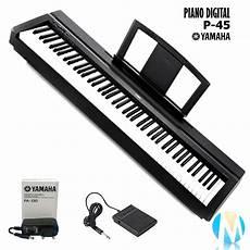 piano digital yamaha p 45 fonte pedal sustain r 2