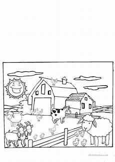 animals worksheets for kindergarten 14059 the farm animals kindergarten esl worksheets for distance learning and physical