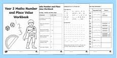 year 2 maths number and place value workbook teacher made