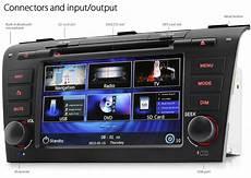 7 quot mazda 3 bk car dvd gps player stereo radio unit