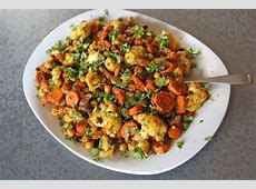 coconut curry with cauliflower  carrots    chickpeas_image