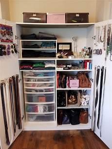 Space Saving Bedroom Closet Closet Organization Ideas by Closet Organization And Space Saving Tips