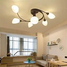 Led Wohnzimmer Deckenleuchte - joypeach rustic style led flush mount ceiling lights