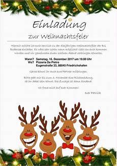 einladung weihnachtsfeier vorlage aaron johnson org