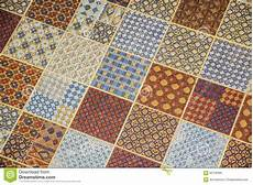 Linoleum Flooring Colors by Tiled Or Linoleum Floor Covering With Repeating Square