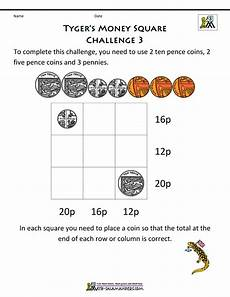 uk money worksheets for year 3 2819 year 3 money challenges