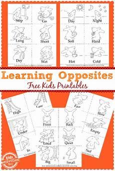 learning opposites free preschool printable free homeschool deals