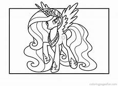 2013 princess celestia coloring pages colouring pages