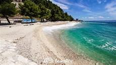 beach grljevac podstrana croatia youtube