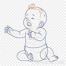 Gambar Bayi Menangis Sketsa 1000 1000