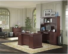 cherry home office furniture bennington harvest cherry home office set from kathy