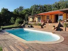 location maison piscine var particulier maison avec vue et piscine individuelle 224 moissac bellevue
