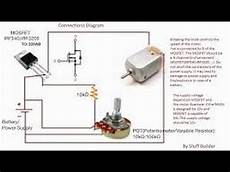 how to control speed of a dc motor using potentiometer and mosfet youtube