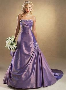 Purple Gown For Wedding
