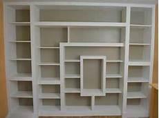 tutorial pour fabriquer une biblioth 232 que en placo et bois