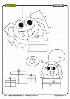 Kostenlose Malvorlagen Weihnachten Quiz Malvorlage Weihnachten Spinne